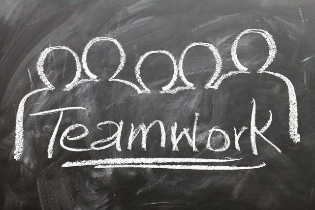 Bild Teamwork Stellenanzeige