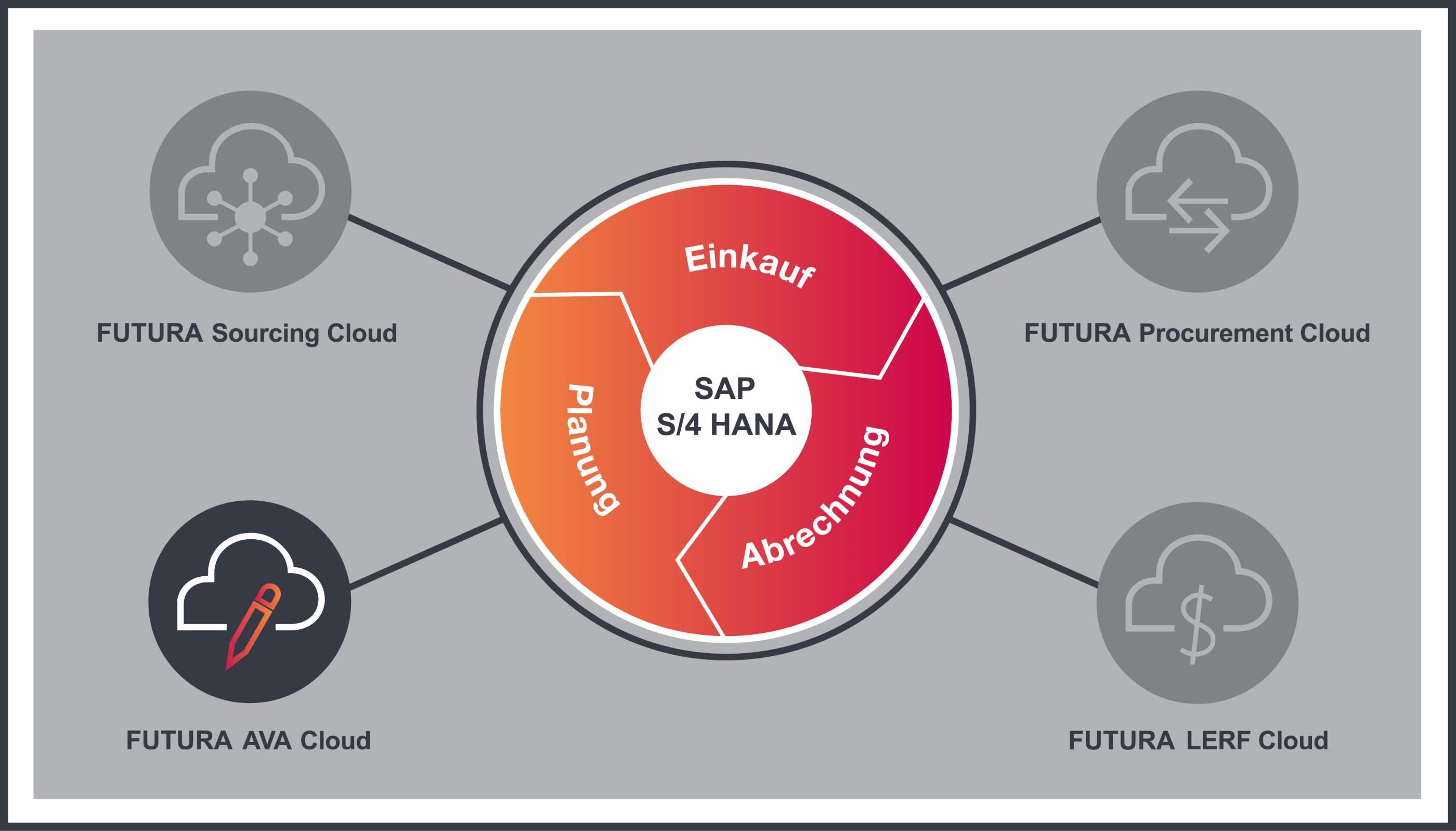 Kreislaufgrafik zur FUTURA AVA Cloud